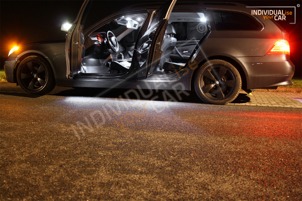 LED Innenraumbeleuchtung SET für BMW 5er E61 Touring - Pure-White
