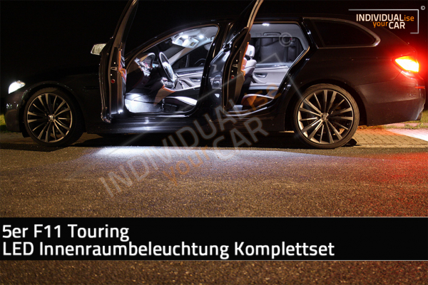 LED Innenraumbeleuchtung SET für BMW 5er F11 Touring - Pure-White