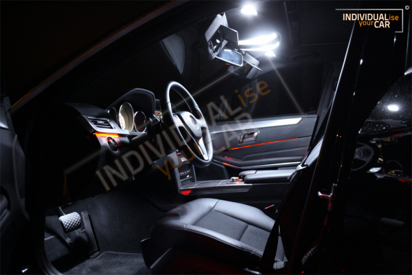 LED Innenraumbeleuchtung SET für Mercedes - Benz E-Klasse Limousine W212 - Pure-White