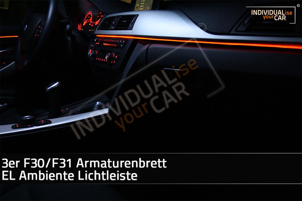 IndividualiseYourCar Shop - 3 Series F30/F31 Dashboard EL Ambience