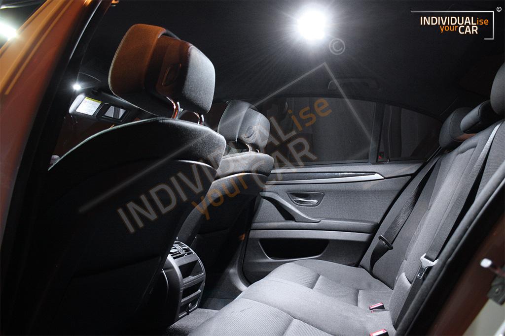 LED Innenraumbeleuchtung SET für BMW 5er F10 Limousine Pure-White