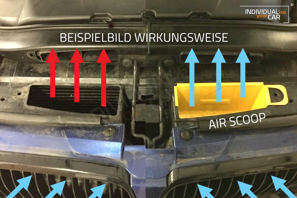 Individualiseyourcar Shop 3er F30 F31 Air Scoops Schwarz